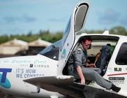 19 évesen egyedül repülte körbe a Földet Ryan Campbell