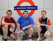 Rekordidő alatt utazta be metróval Londont két férfi