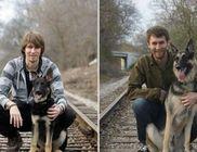 Emberek és állatok örök barátsága: előtte-utána fotók 10 év távlatából