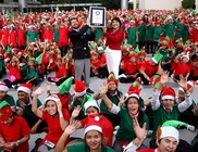 1792 kis karácsonyi manó döntötte meg a Guinness rekordot