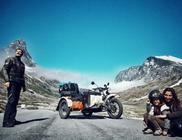Motorral járta körbe egész Európát a kalandvágyó család