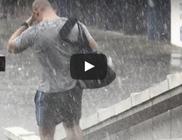 Durva jégvihar júniusban - videóval