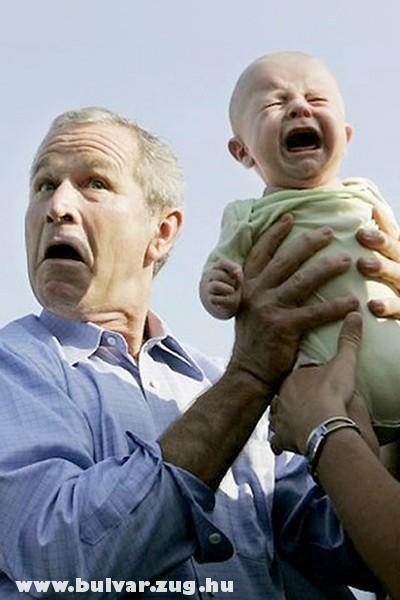 Bush-t lepisilték?!