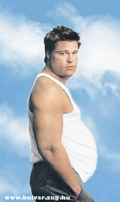 Brad Pitt terhes?