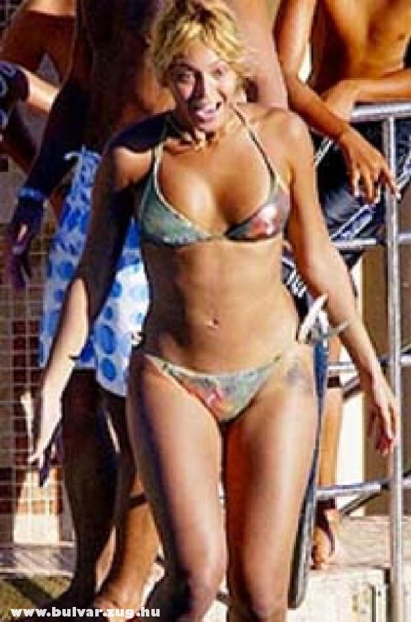 Beyonce a strandon