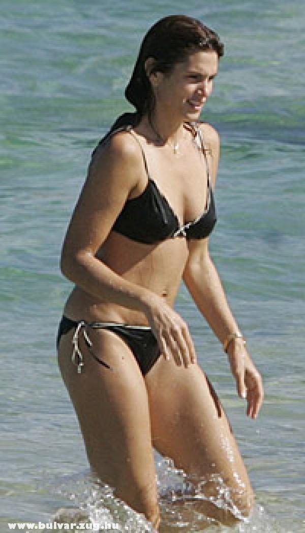 Cindy Crawford a tengerben
