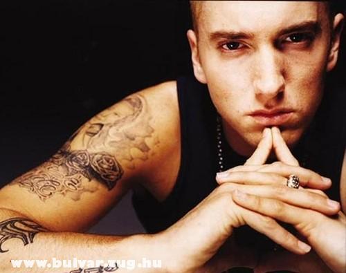 Eminem a sztár rapper