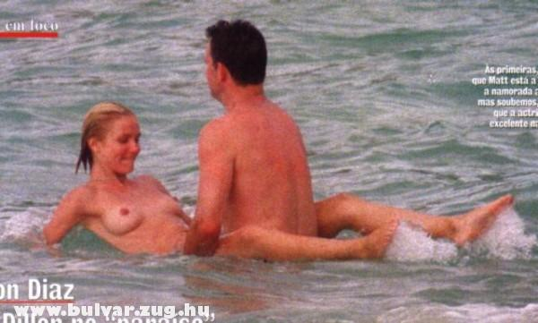 Cameron Diaz a tengerben szexel