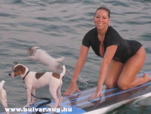 Mariah Carey és a kutyusok
