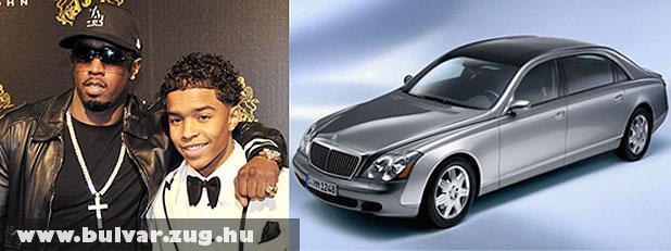 P. Diddy 80 milliós autót vett a fia 16. szülinapjára