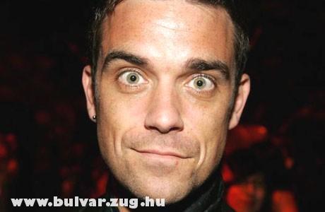 Robbie Williams rámkacsintott