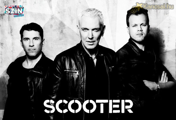 A Scooter is fellép a 2015-ös SZIN-en