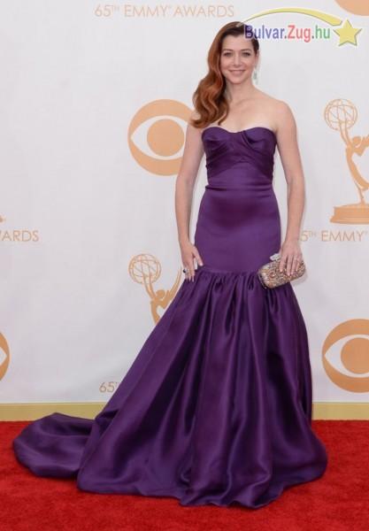 Alyson Hannigan az Emmy gálán