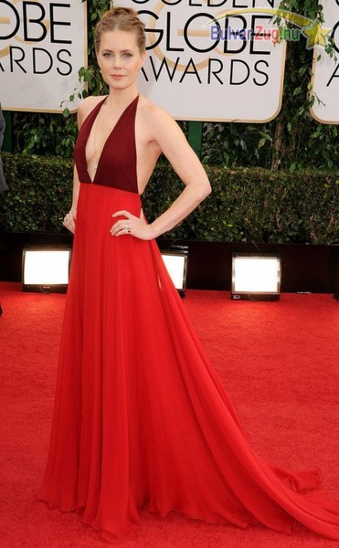 Amy Adams a Golden Globe-on