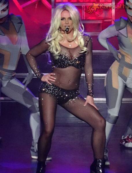 Britney Spears visszatért régi formájához