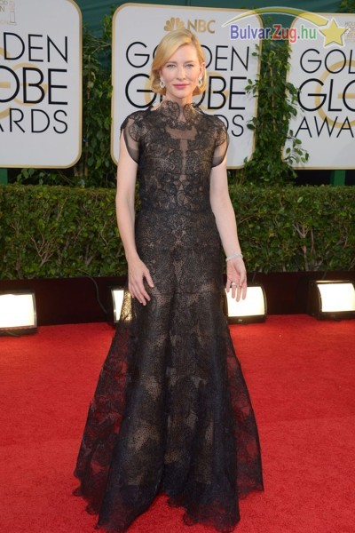 Cate Blanchett a Golden Globe-on