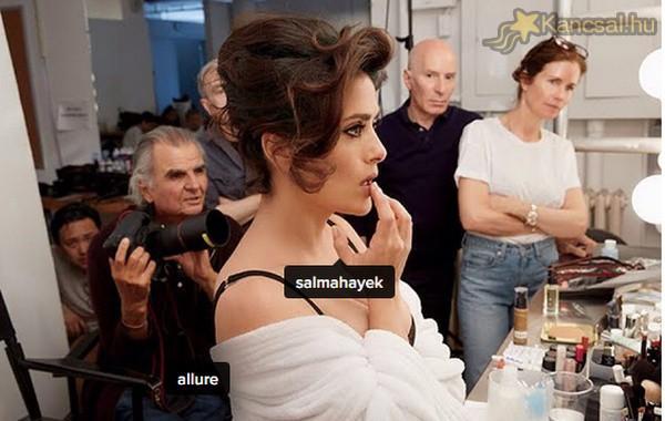 Így néz ki 48 évesen Salma Hayek
