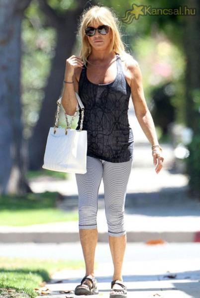 Így néz ki 68 évesen Goldie Hawn