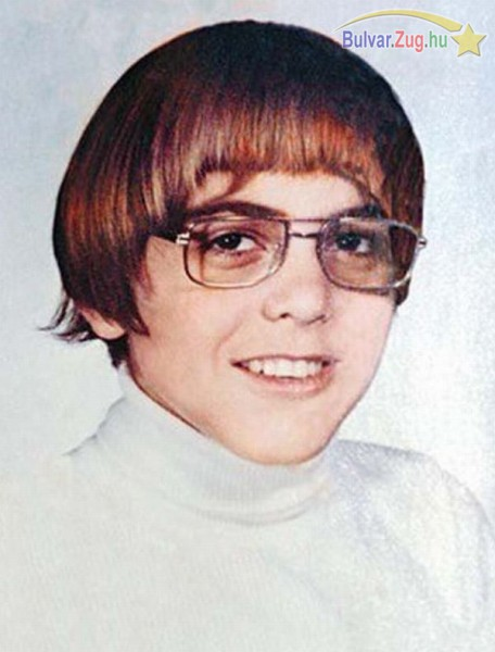 Így nézett ki gyerekként George Clooney