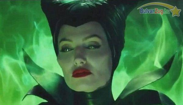 Ijesztő boszorkánnyá változott Angelina Jolie