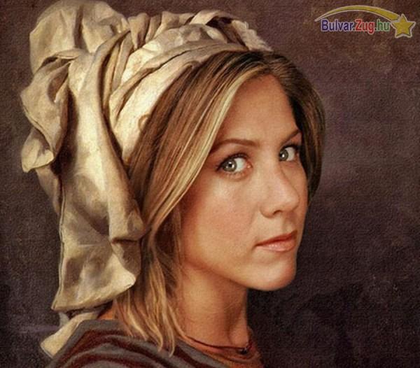 Jennifer Aniston parasztlányként