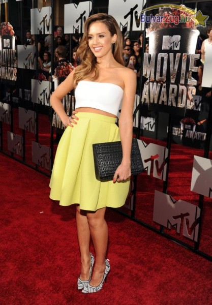 Jessica Alba a 2014-es MTV Movie Awardson