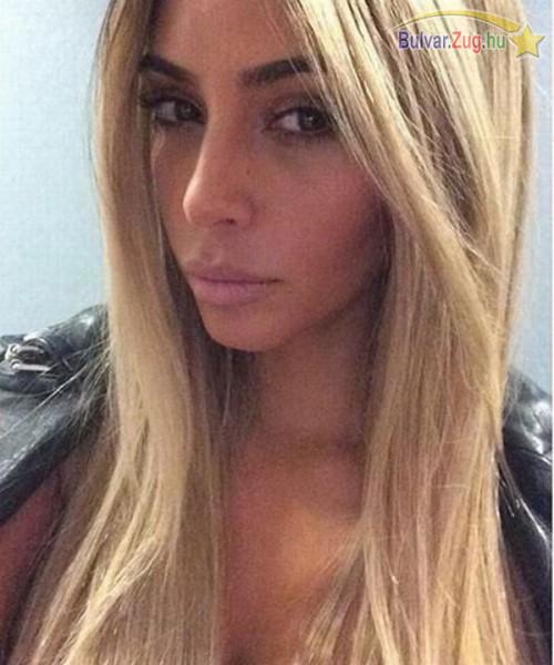 Kim Kardashian új frizurája