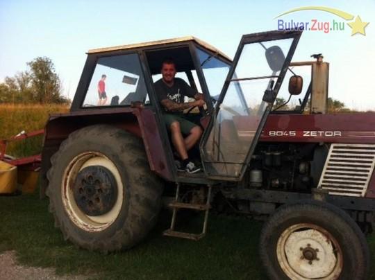 Kipróbálta a traktort az Éjjel-Nappal Budapest Gabija