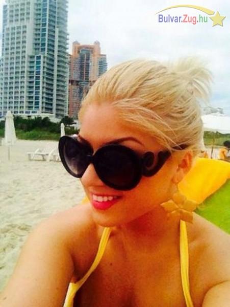 Miamiban koncertezik és pihen Tolvai Reni