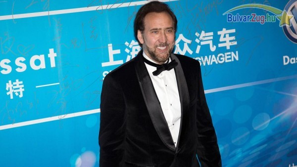 Nicolas Cage a Huading-díjátadón