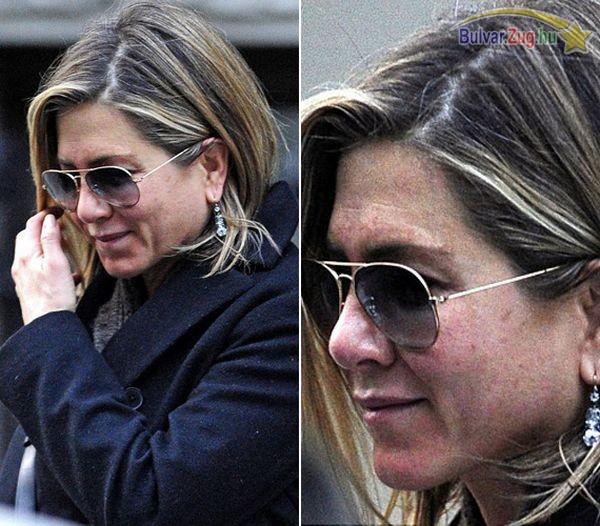 Smink nélkül kapták lencsevégre Jennifer Anistont