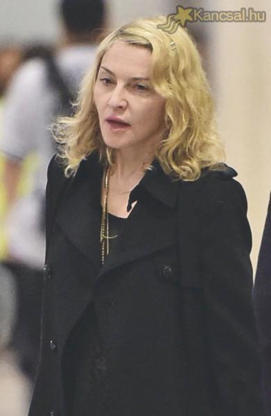 Sokkolóan néz ki Madonna smink nélkül