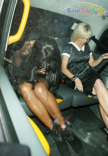Túlságosan felöntött a garatra Naomi Campbell