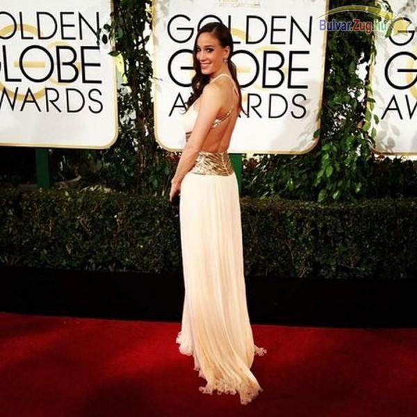 Vajna Tímea a Golden Globe-gálán