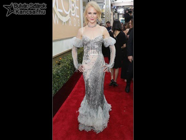 Nicole Kidman a Golden Globe-on