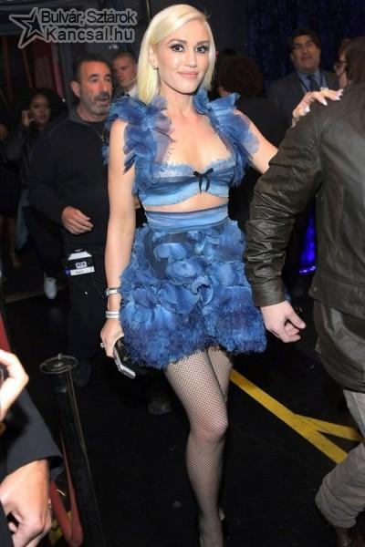 Gwen Stefani érdekes ruhát választott a díjátadóra