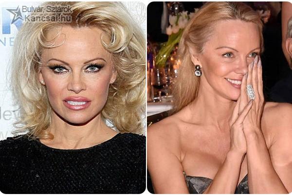 Rá sem lehet ismerni Pamela Andersonra