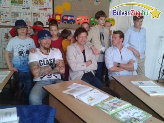 Tilla, Ganxsta és Kamarás Iván 20 évet fiatalodott, amikor ismét beültek az iskolapadba