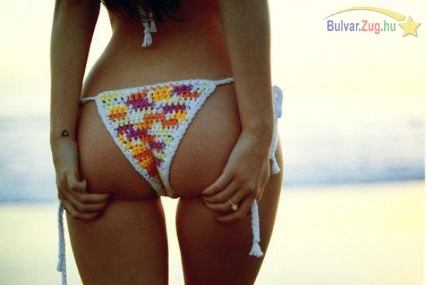 Kötött bikini