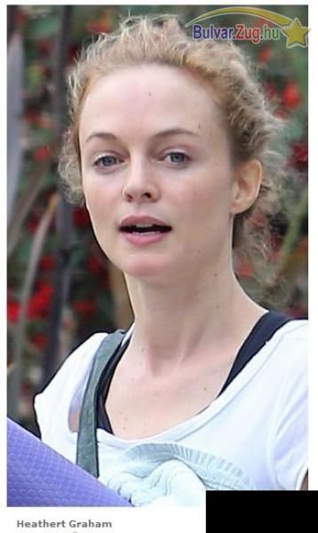 Heathert Graham smink nélkül