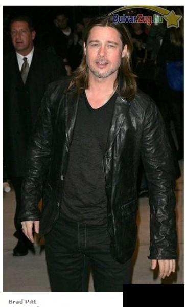 Brad Pitten is látszik már, hogy nem húszéves