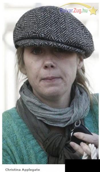 Christina Applegate nem fest túl pompásan smink nélkül