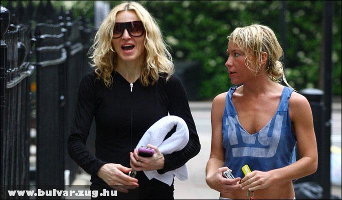 Madonna és személyi edzõje