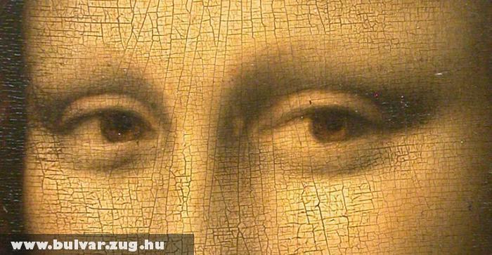 Mona Lisa szeme kódokat rejt?