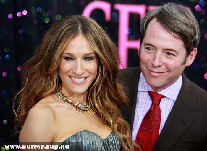 Sarah Jessica Parker és férje Matthew Broderick