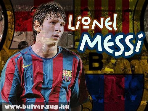 Lionel Messi az aranylabdás