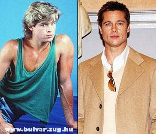 Brad régen és most