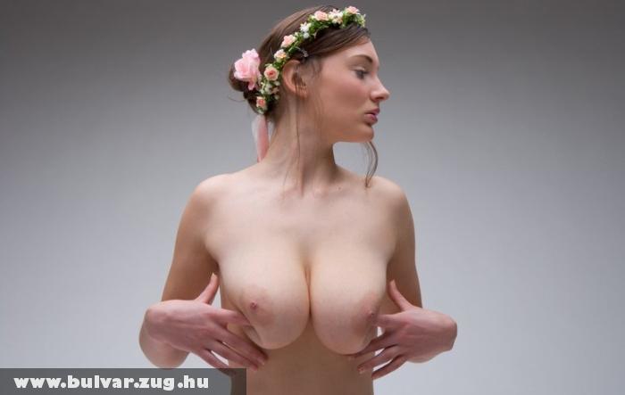 Virágkorona a fejen