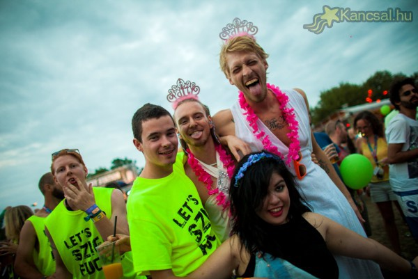 Sziget 2014 face