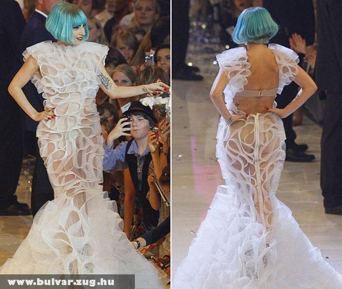 Lady Gaga a kifutón